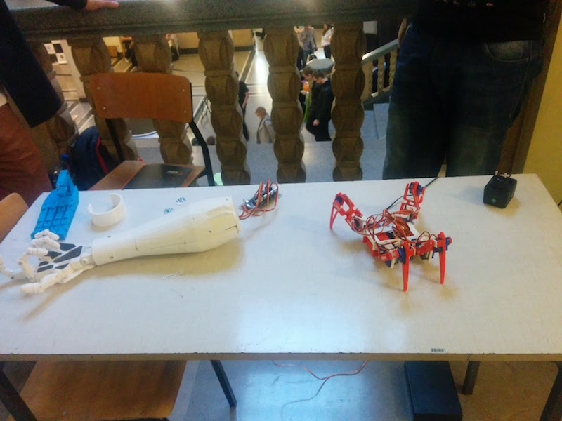 Przeglądasz obrazki do artykułu: Festiwal robotów ROBOCOMP 2016
